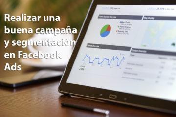 Campaña Facebook Ads Insertsite segmentación